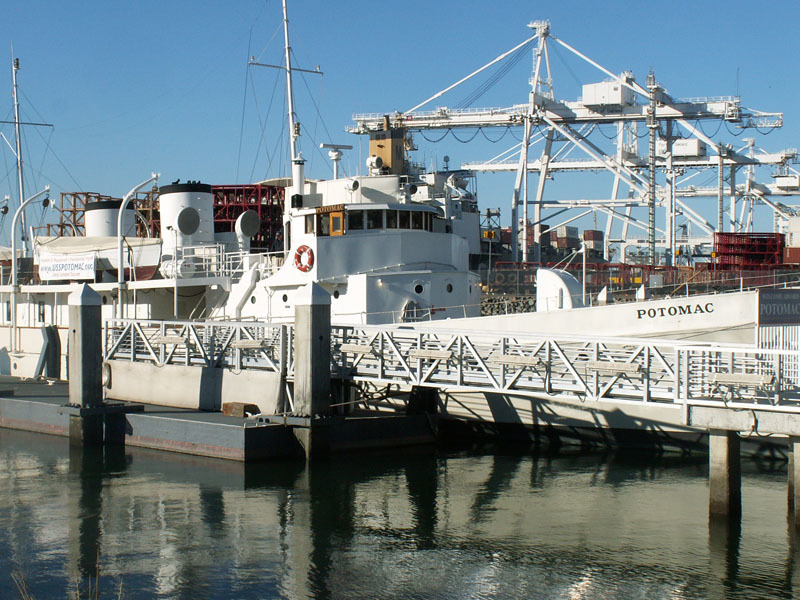 Landmark 95 A U S S Potomac