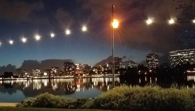 Landmark 97 A Necklace of Lights Lake Merritt