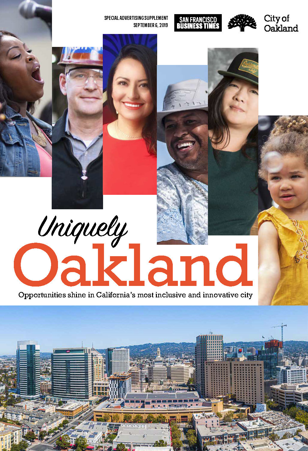 Uniquely Oakland insert in the San Francisco Business Times Image