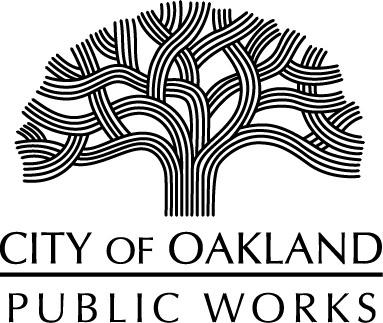Oakland Public Works Tree Logo Image